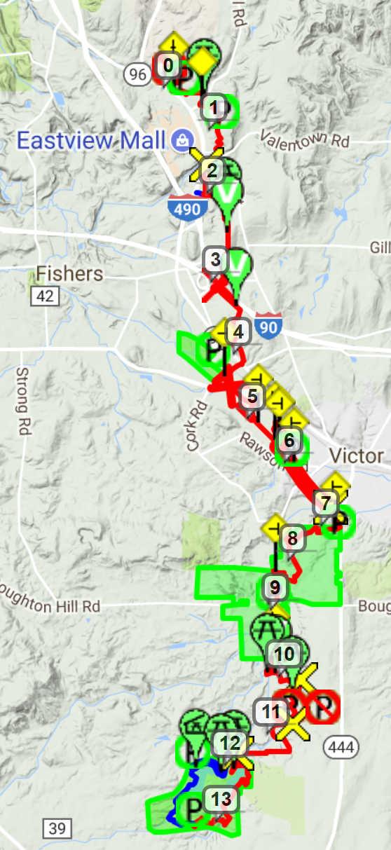 Seneca Trail: VHT
